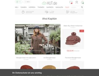 hut.de screenshot