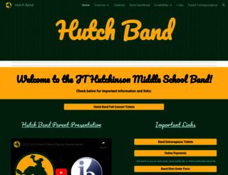 hutchband.com screenshot