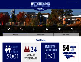 hutchcc.edu screenshot
