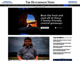 Hutchnews.com Screenshot