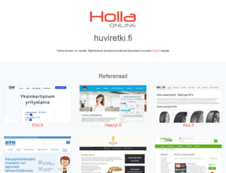 huviretki.fi screenshot