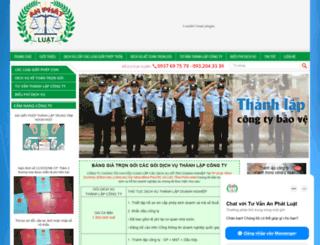 huynhgialaws.com screenshot