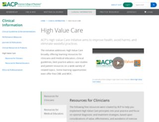 hvc.acponline.org screenshot