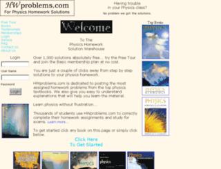 hwproblems.com screenshot