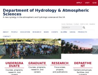 hwr.arizona.edu screenshot