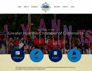 hyannis.com screenshot