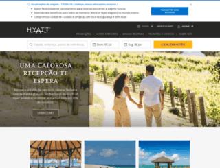 hyatt.com.br screenshot