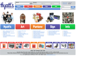 hyatts.com screenshot