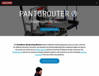 hybridpantorouter.com screenshot