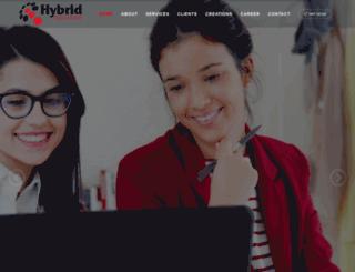 hybridsols.com screenshot