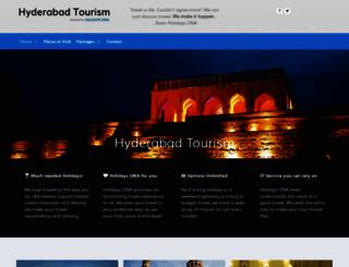 hyderabadtourism.travel screenshot