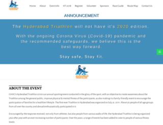 hyderabadtriathlon.com screenshot