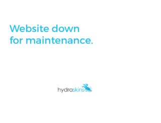 hydraskins.com screenshot