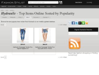 hydraulic.fashionstylist.com screenshot