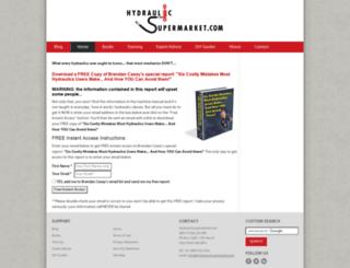 hydraulicsupermarket.com screenshot