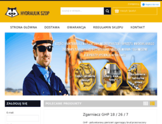 hydraulikszop.pl screenshot