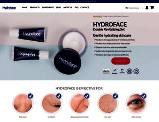 hydroface.com screenshot