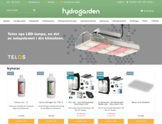 hydrogarden.se screenshot