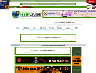 hyip-cruiser.com screenshot
