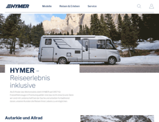 hymercar.com screenshot
