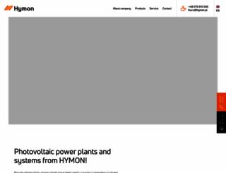 hymon.pl screenshot