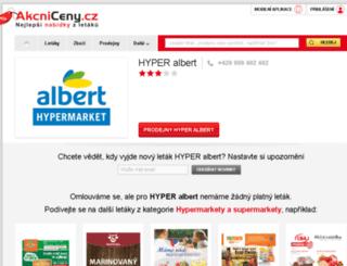 hyperalbert.akcniceny.cz screenshot