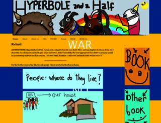 hyperboleandahalf.blogspot.com screenshot