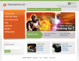 hypergames.net screenshot