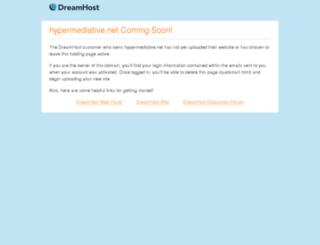 hypermediative.net screenshot