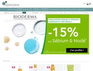 hyperparapharmacie.com screenshot