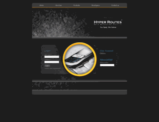 hyperroutes.com screenshot