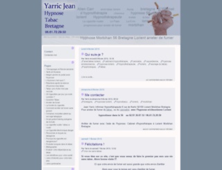 hypnose-tabac-bretagne.fr screenshot