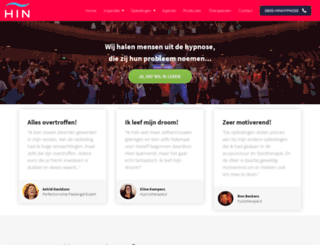 hypnoseinstituutnederland.nl screenshot