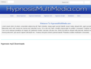 hypnosismultimedia.com screenshot