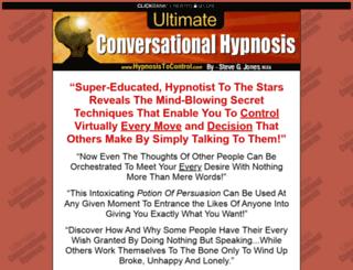 hypnosistocontrol.com screenshot