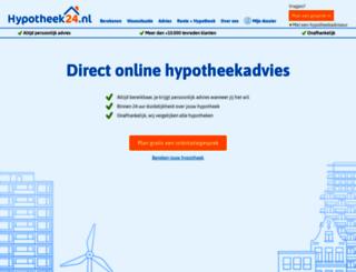 hypotheek24.nl screenshot