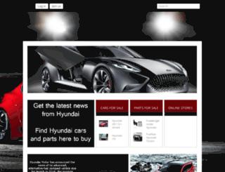 hyundai.gazzor.com screenshot