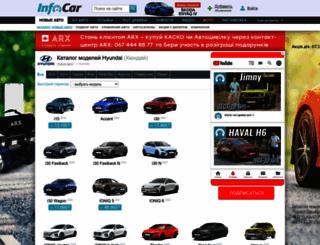 hyundai.infocar.ua screenshot