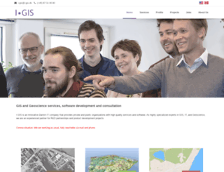 i-gis.dk screenshot