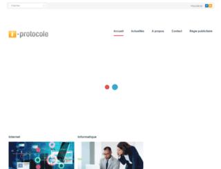 i-protocole.fr screenshot
