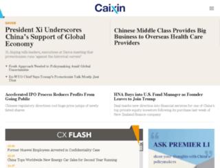 i.caixin.com screenshot