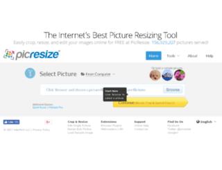 i.picresize.com screenshot