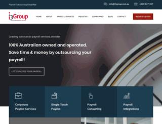 i3group.com.au screenshot