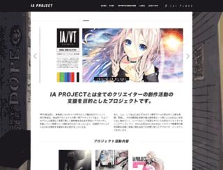 ia-project.net screenshot