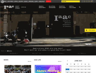iaac.net screenshot