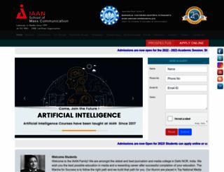 iaan.org screenshot