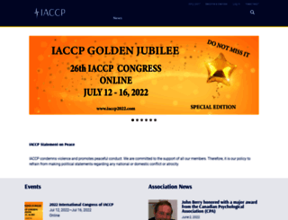 iaccp.org screenshot