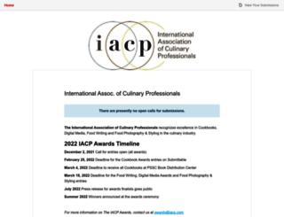 iacp.submittable.com screenshot
