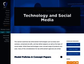 iacpsocialmedia.org screenshot