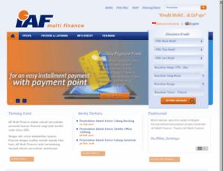 iafmultifinance.com screenshot